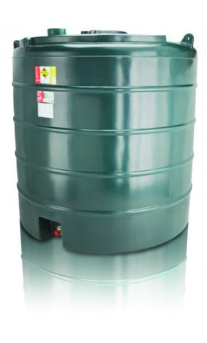5000 Litre Single Skin Oil Tank - Vertical