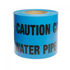 Water Marker Warning Tape