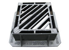450mm D400 Gully Grate