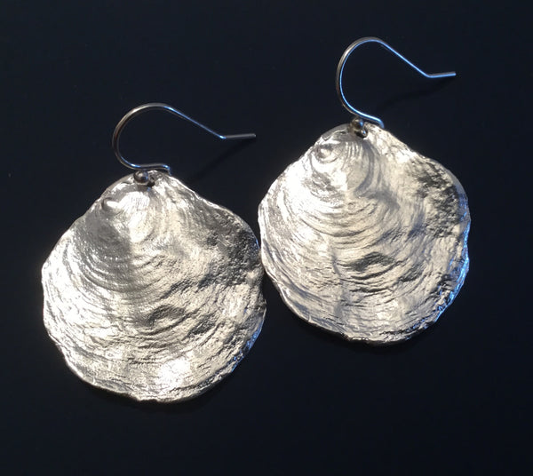 Large Shell Earrings