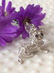 Sitting Kitty Charm