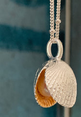 Shell with Pearl Pendant