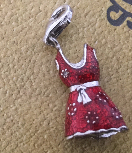 Little Red Dress Charm