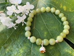 Lily of The Valley charm Bracelet