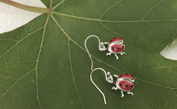 Ladybird  Earrings