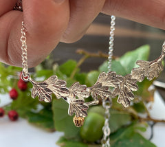 New Beginnings Oak Tree Necklace