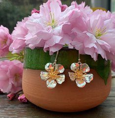 Spring Blossom Drop Earrings