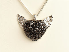 Heart with Wings Pendant
