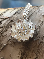 Chrysanthemum Flower Pendant