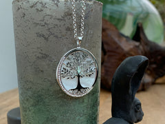 Tree of Life Pendant with Mother of Pearl
