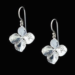 Hydrangea Single Drop Earrings