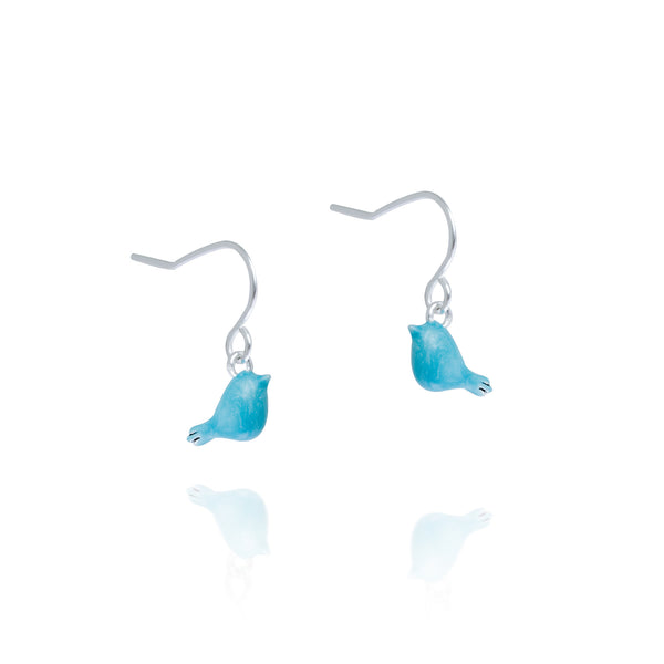 Little Blue Bird Earrings