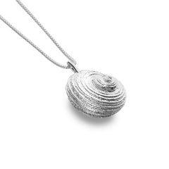 Curved Shell Pendant