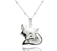 Sleeping Fox Pendant