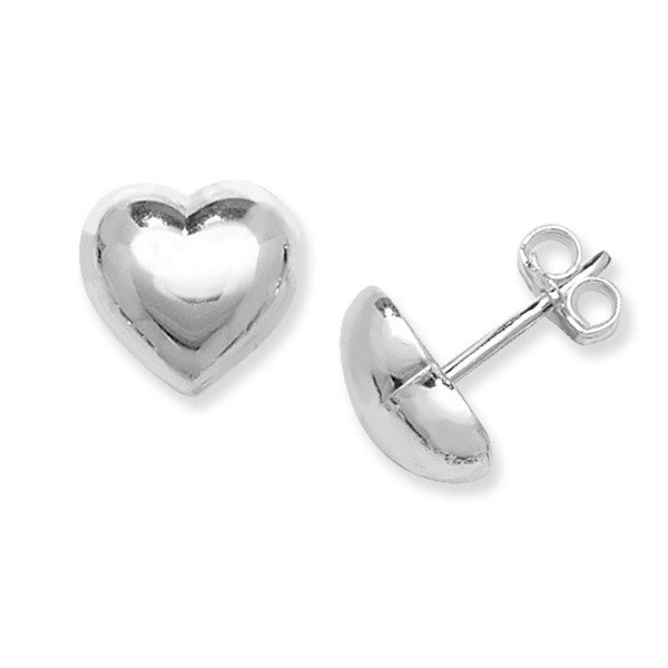 Puffed Heart earrings