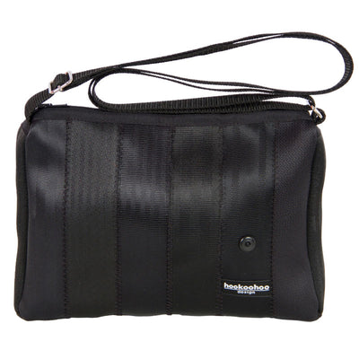 Hookoohoo design Veska Shoulder black seat belt bag