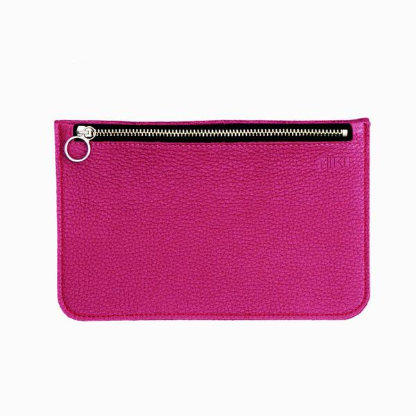 Miiko design Kätkö purse pink elk leather