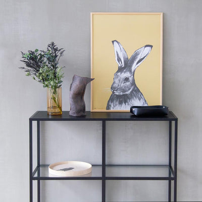 Hare poster by Miiko design Finland, living room