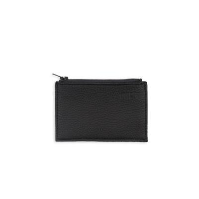 Miiko design black Pouch with card holder elk leather