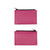 Miiko design pink Pouch with card holder elk leather