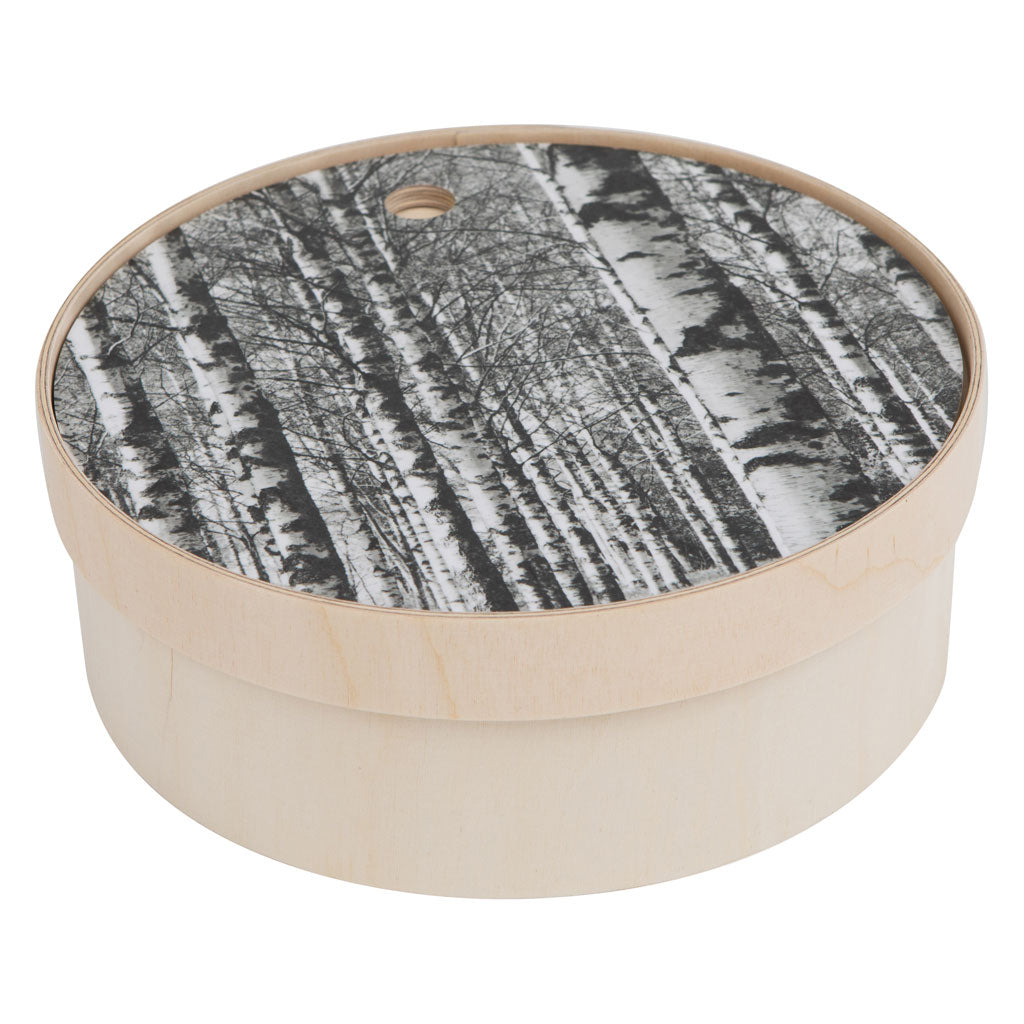 Birch Forest plywood bread box by Miiko design Finland