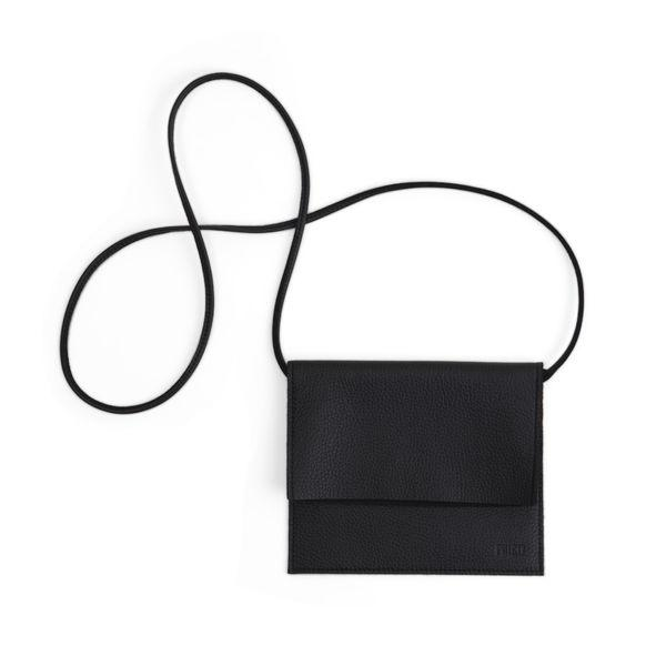 Miiko design black Jemma elk leather bag