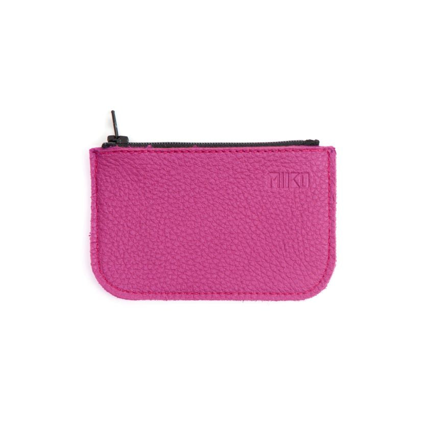 Miiko design pink small Purse, elk leather