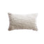 Textured Wool Lumbar Pillow