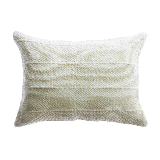 Tinny Stripes Wool Lumbar Pillow