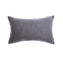 Alma Slate Wool Lumbar Pillow