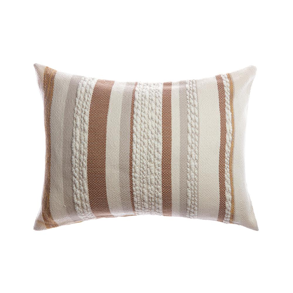 Anette Square Wool Pillow - Brownie