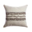 Bubbles Grey Square Pillow