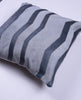 Cowhide Herringbone Pillow - Silver & Slate - Homelosophy