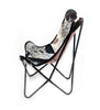 DARK SALT & PEPPER - Cowhide Butterfly Chair