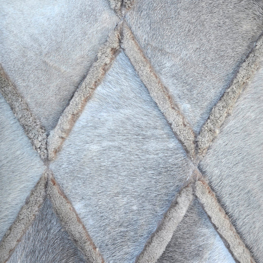 DIAMONDS - Hair on Hide / Shearling Rug