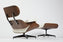 Charles Eames Lounge Chair - Milk Natural Leather