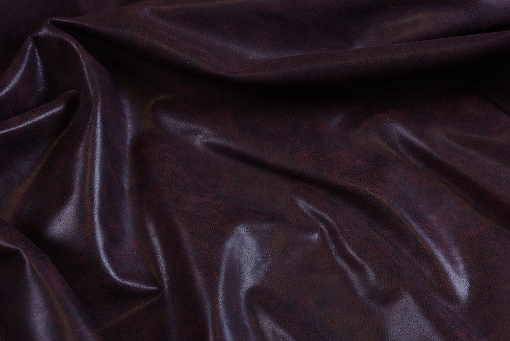 ANTIQUED - Oxblood Leather