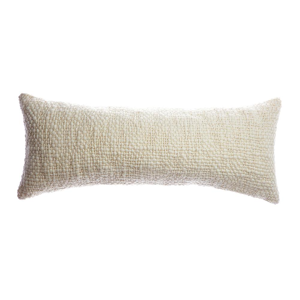Flame Wool Bed Lumbar Pillow