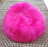 SHEEPSKIN POUF - Long Hair Fuchsia - homelosophy