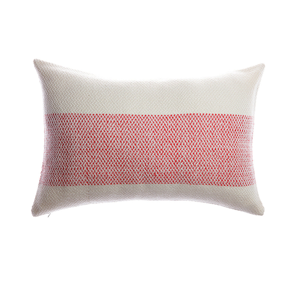 Red Stripe Decorative Pillow