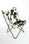 HOLSTEIN BLACK & WHITE - Hair on Hide Butterfly Chair