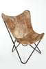 MARPLE - Cowhide Lounge  Chair - HOMELOSOPHY