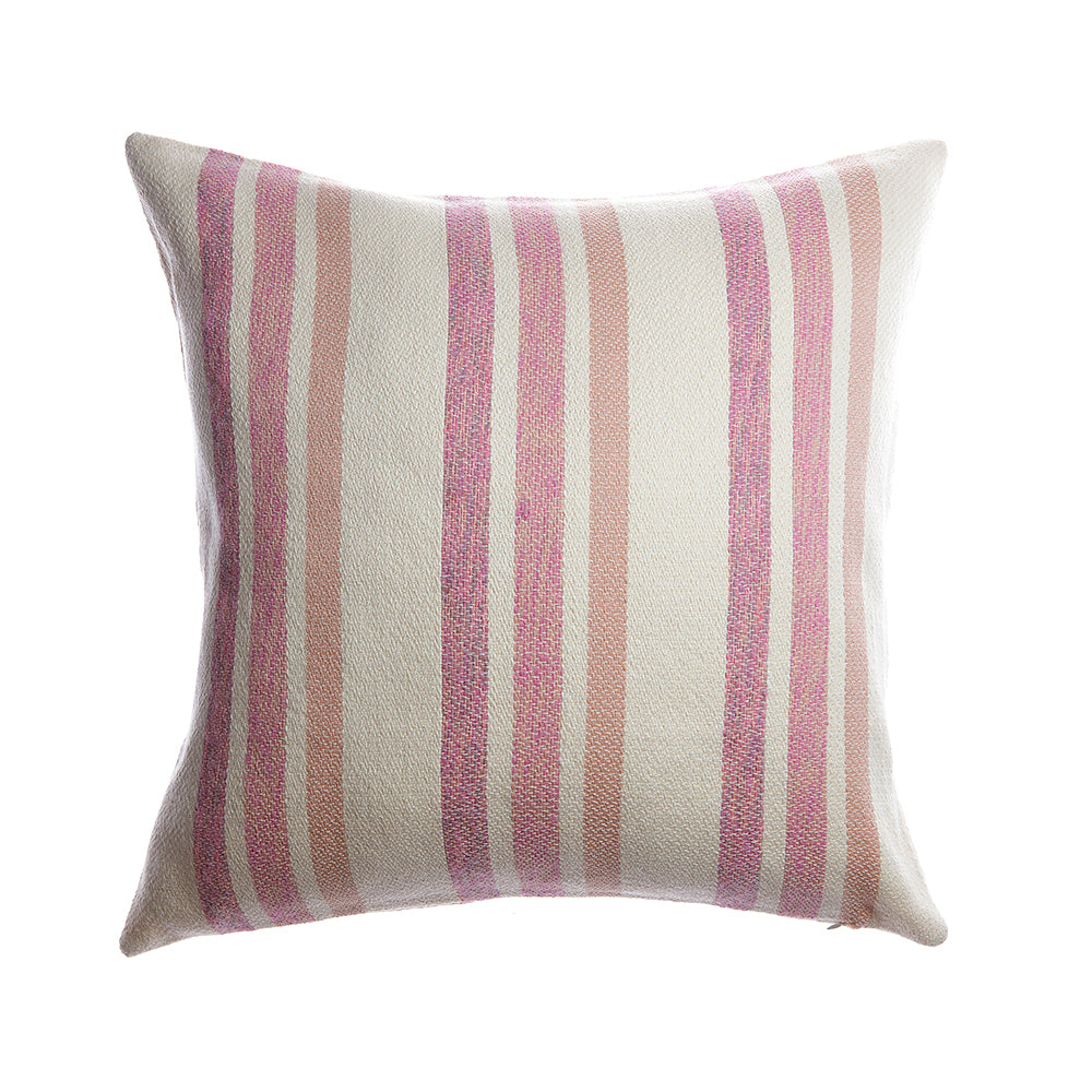 Marlene Square Wool Pillow - Pinky