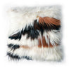 Mixed Natural Goat Skin Pillow