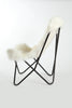 Curly Goatskin Butterfly Chair - Lounge Chair - Homelosophy