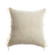 Penachos Fringed Wool Square Pillow