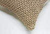 Roma Crochet Cotton Pillow - Beige | Homelosophy