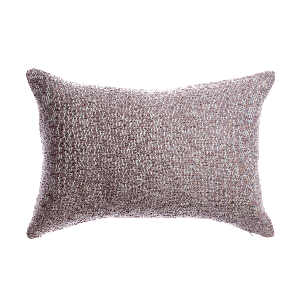 Rustic Cotton Vison Lumbar Pillow