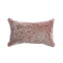 Shearling Grey Melange Lumbar Pillow