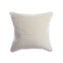 Shearling Ivory Square Pillow